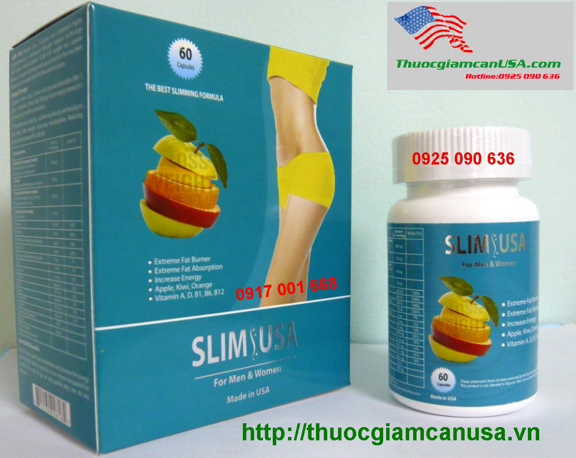 slim usa thuoc giam can slim usa 1