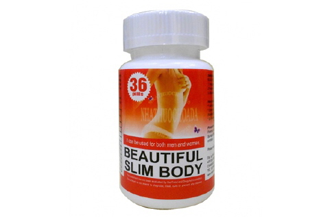 VIÊN GIẢM CÂN BEAUTIFUL SLIM BODY USA 2012